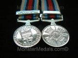 MINIATURE OPERATIONAL SERVICE MEDAL AFGHANISTAN (OSM)